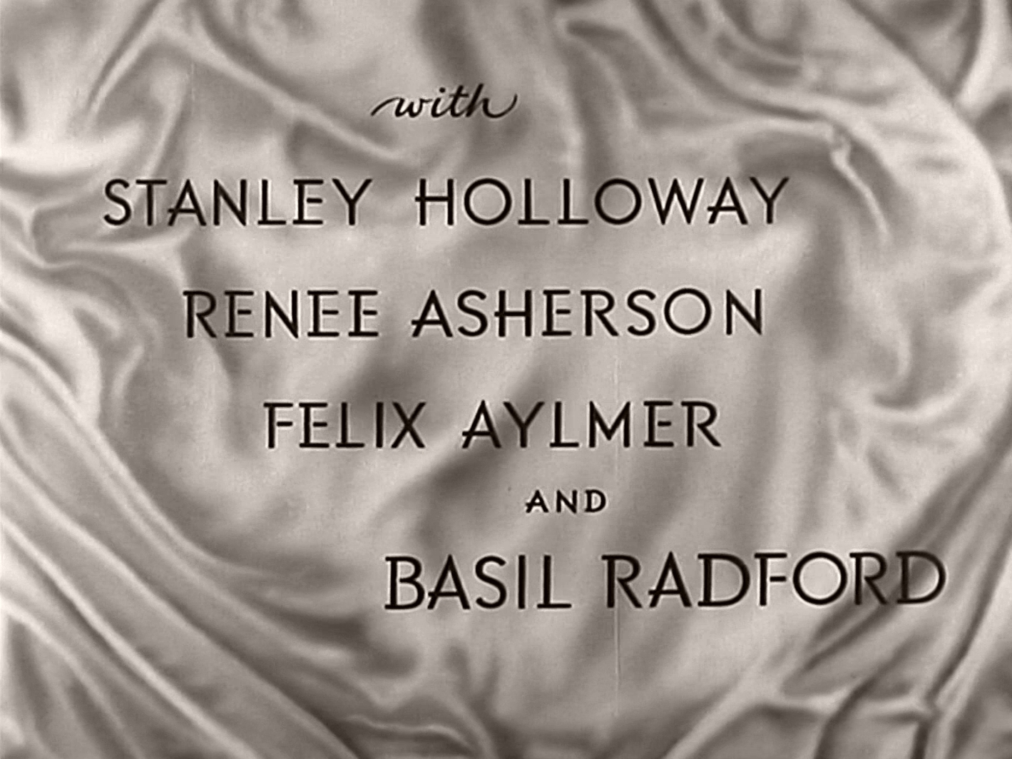 Main title from The Way to the Stars (1945) (5). Stanley Holloway, Renée Asherson, Felix Aylmer and Basil Radford