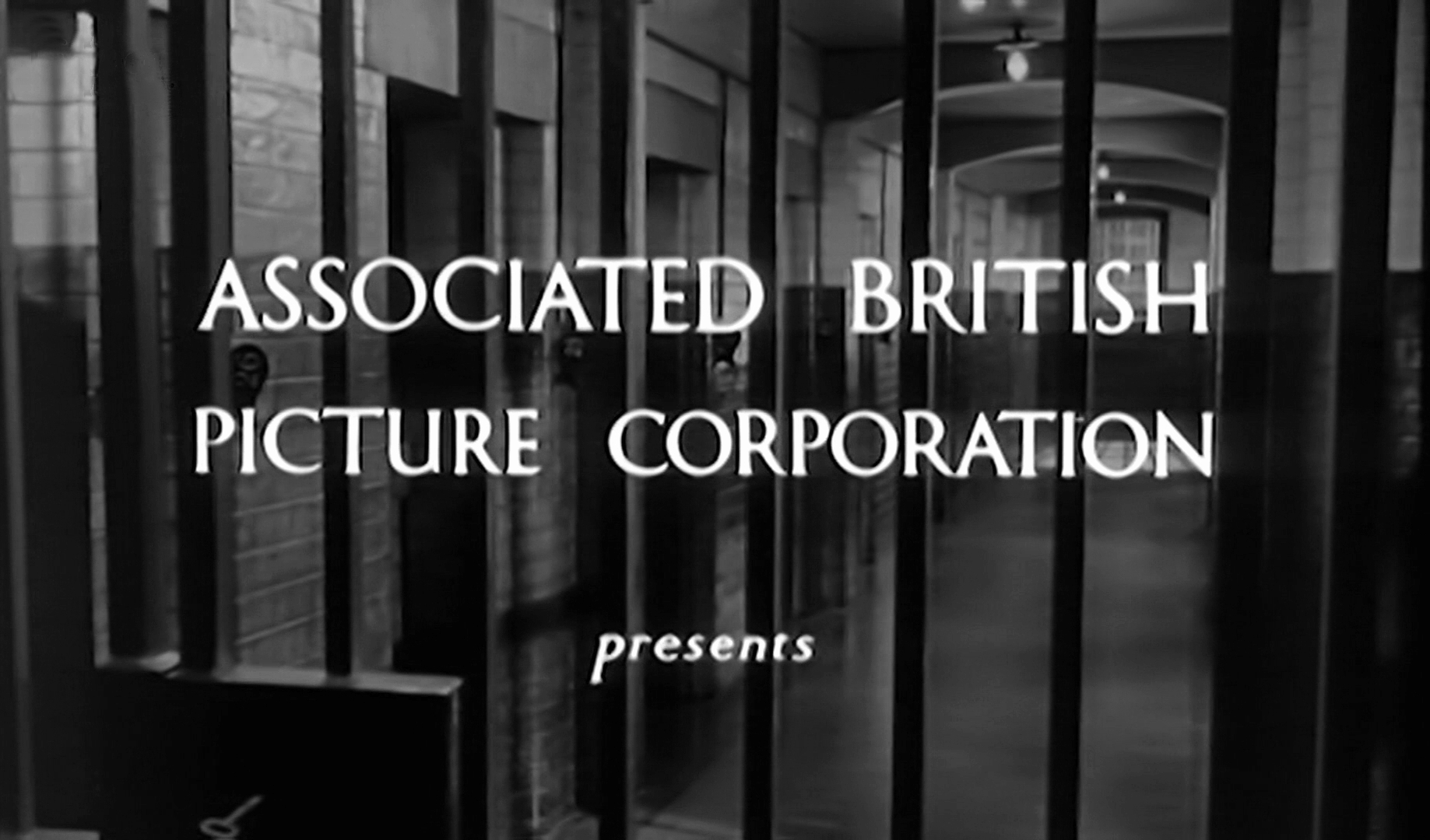 Main title from The Weak and the Wicked (1954) (1). Associated British Picture Corporation presents