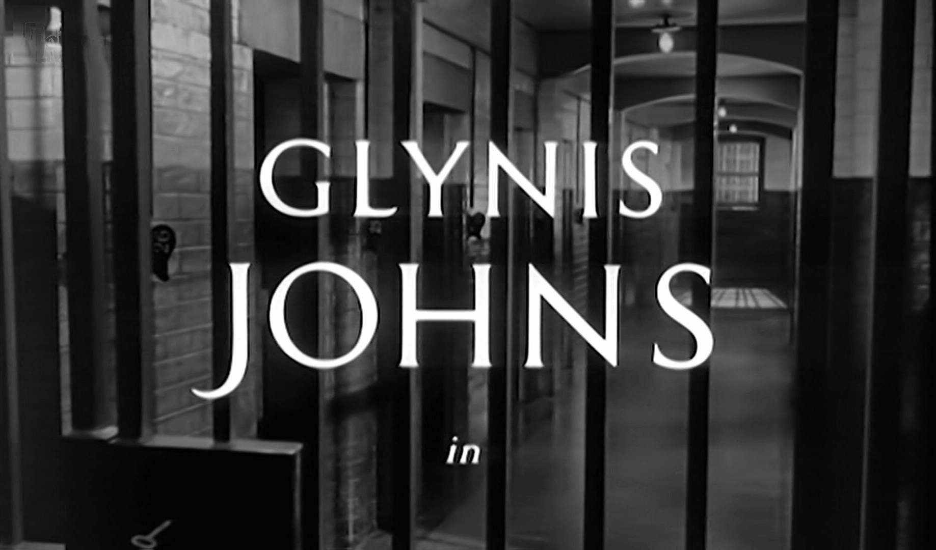 Main title from The Weak and the Wicked (1954) (2). Glynis Johns in
