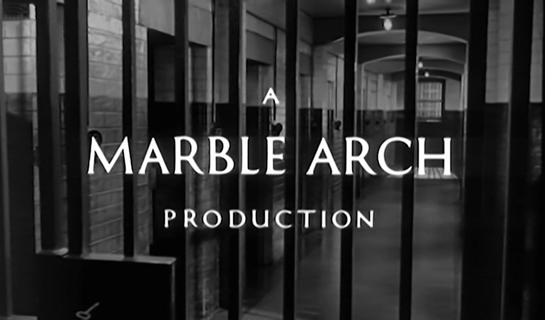 Main title from The Weak and the Wicked (1954) (4). A Marble Arch production