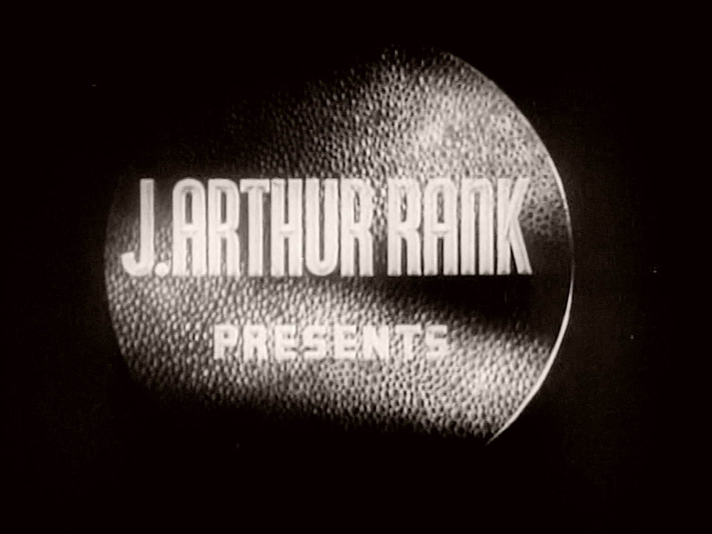Main title from The Weaker Sex (1948) (2).  J Arthur Rank presents