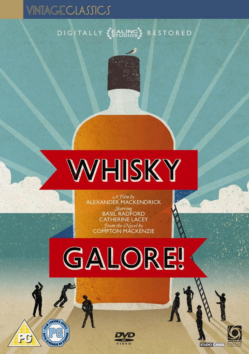 Whisky Galore! DVD from Optimum, 2011