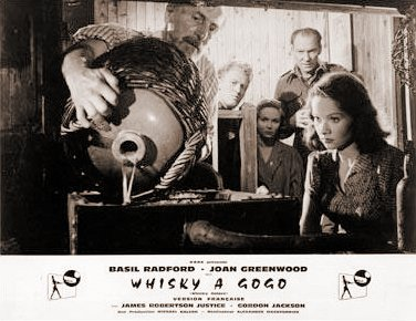 French lobby card from Whisky Galore! (1949) (1)