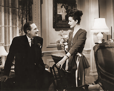 Fobey (Guy Middleton) wants Lucy (Margaret Lockwood) to be happy, but realises that there is something missing in her life: she hasn't enough to keep her occupied. She tells Fobey that the house, the furniture, everything in it belongs to Philip; except for the ghost who haunts the drawing-room waiting for her lover