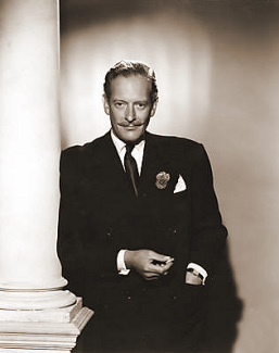 Guy Middleton (as Fobey) in a photograph from The White Unicorn (1947) (82)