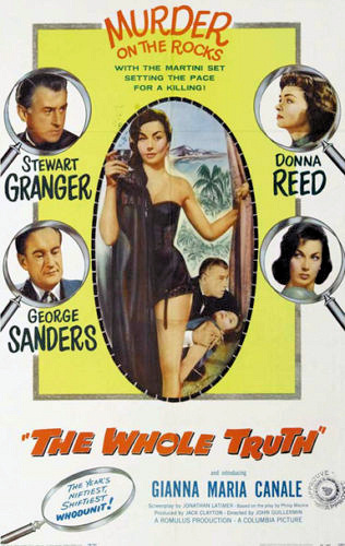 Poster for The Whole Truth (1958) (2)