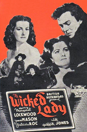 Poster for The Wicked Lady (1945) (11)