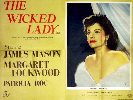 Poster for The Wicked Lady (1945) (9)