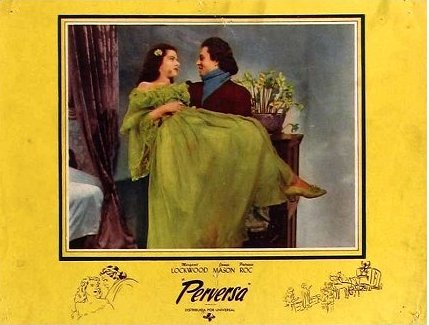 Spanish lobby card from The Wicked Lady (1945) (1)