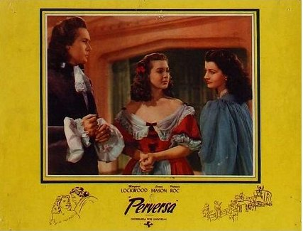 Spanish lobby card from The Wicked Lady (1945) (3)