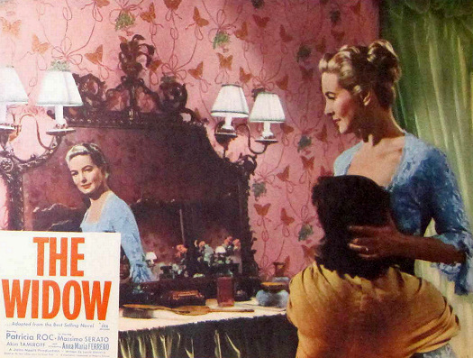 Lobby card from The Widow (1959) (2)