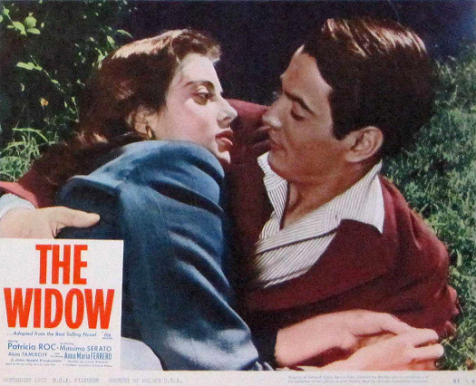 Lobby card from The Widow (1959) (6)
