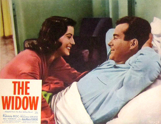 Lobby card from The Widow (1959) (7)