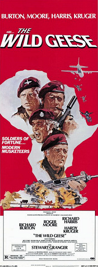 Poster for The Wild Geese (1978) (1)