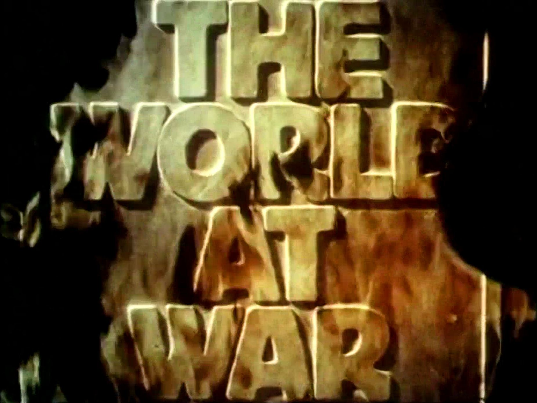 Main title from the Thames Television series, The World at War (1973-74)