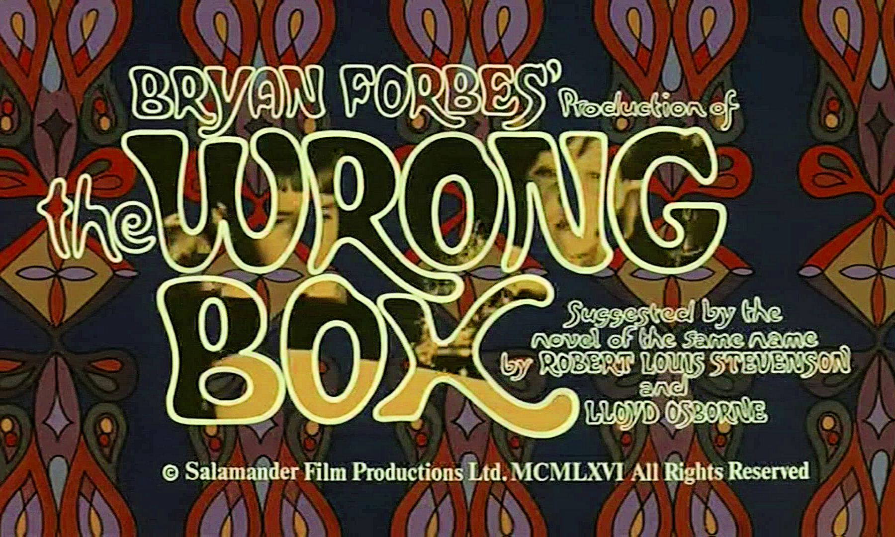 Main title from The Wrong Box (1966) (3)