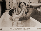 German lobby card from Young Wives' Tale (1951) (1)