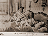 German lobby card from Young Wives' Tale (1951) (2)