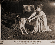 German lobby card from Young Wives' Tale (1951) (3)