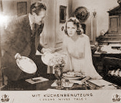 German lobby card from Young Wives' Tale (1951) (4)